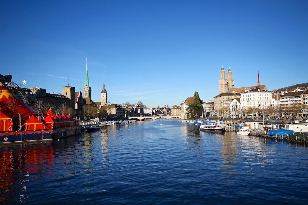 View to Zurich