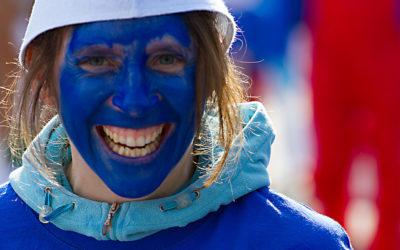 Blau lacht man am besten - mk0095