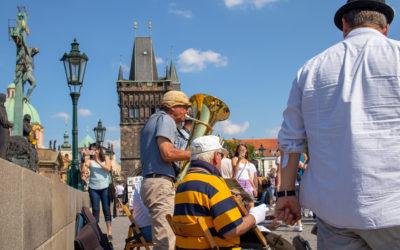 Jazze-Gruppe auf der Karlsbrücke - mk0519